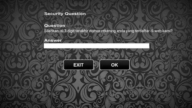 Security Login PKV